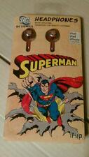 iHip Headphone DC Comics Superman LOW PRICE iPod BRAND NEW!!!