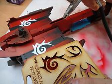 Wargames Imperial Marines Space Orboros Dark Eldar Tribal Art Stencils #44a/b