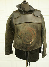 Medieval Dragon Armor w/ Leather Gambeson DRACULA UNTOLD Movie Prop LARP SCA M