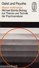 Michael BALINTS Contributo per TEORIE e TECNICA der PSICOANALISI HOFFMEISTER