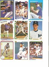 18 CARD SCOTT SANDERSON BASEBALL CARD LOT !                3-4