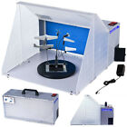 Portable Hobby Airbrush Paint Spray Booth Kit Oder Extractor Gun Toy Model Parts