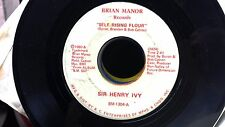 MEMPHIS BLUES 45 SIR HENRY IVY Self Rising Flour/You Must Be Gravity BRIAN MANOR