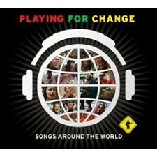 "PLAYING FOR CHANGE ""SONGS AROUND THE WORLD"" CD+DVD NEW+"