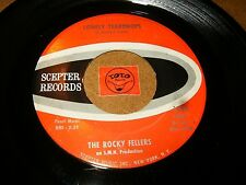 THE ROCKY FELLERS - LONELY TEARDROPS - KILLER JOE  / LISTEN - DOO WOP POPCORN