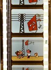 35mm-Filmserie Social-Spot SPANNUNGSMASTE (DDR 1971) DEWAG Zeichentrick Dresden