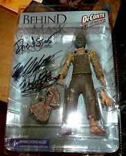 "Behind The Mask The Rise Of Leslie Vernon 7"" Action Figure SIGNED 3X"