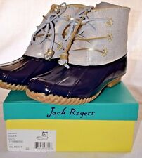 Women's Jack Rodgers Chloe Duck Boots size 9M