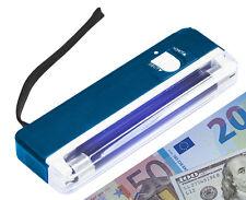 Uv détecteur vérificateur Lampe lumière détecteur testeur auditeur argent euros dollar