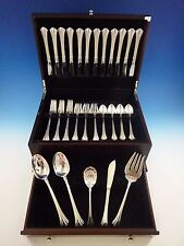 Eighteenth Century by Reed and Barton Sterling Silver Flatware Service Set 53 pc