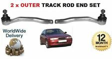 FOR ROVER 600 1993-1999 2x OUTER LEFT & RIGHT TRACK TIE RACK ROD END