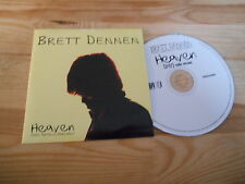 CD Pop Brett Dennen - Heaven (1 Song) Promo COOP DOWNTOWN cb Nat Merchant