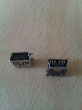 2 x 5 Pin Female  Mini USB SMD Socket Connector For Mobile Phones And Other