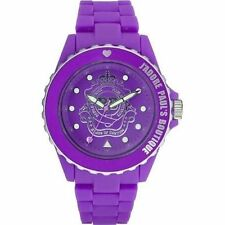 Paul's Boutique Ladies Purple Rotating Dial Designer Watch – PA004PPPP