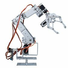 Robot Arm Clamp Set 6 DOF, Robotics Arm with claw (Body Only, Arduino Ctrl, USA)