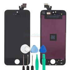 LCD Display Touch Screen Black Digitizer Assembly Replacement Tools for iPhone 5