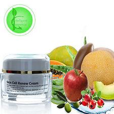 Malattie della pelle rinnovo cellulare crema con Vitamina C, Acido Ialuronico ALOE VERA Olio di argan 30 ml