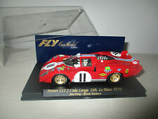 FERRARI 512 S CODA LUNGA 24H.LE MANS 1970 FLY CAR MODEL SCALA 1:24