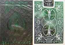 Bicycle Foil Back Emerald Playing Cards - Limited Edition - SEALED