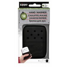 Zippo 12 Hour Easy Fill Re-Useable Hand Warmer Black  Brand New