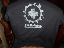 OFFICIAL SPAIN LAIBACH T-SHIRT GREY ON BLACK M-SIZE UNWORN