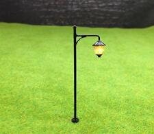 S046 - 10 Stück Straßenlampen mit LED 6,5cm Set Parkleuchten Parklampen
