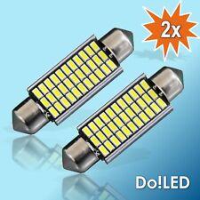 2x LED Kennzeichenbeleuchtung weiß C5W Nummernschildbeleuchtung 36mm Soffitte