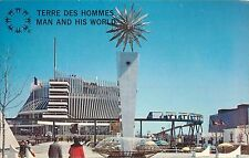 Man and His World Montreal Quebec Postcard Terre Des Hommes