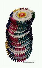 480pcs hijab écharpe berry pins perlée head set couturiers à coudre multi 40mm