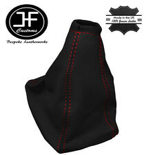 RED STITCHING FITS OPEL VAUXHALL ZAFIRA A REAL LEATHER GEAR STICK GAITER