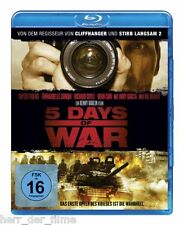 5 DAYS OF WAR (Rupert Friend, Richard Coyle, Andy Garcia) Blu-ray Disc