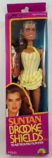 "Vintage Suntan Brooke Shields Doll by LJN, 1982 NRFB 11.5""  Made in Hong Kong"