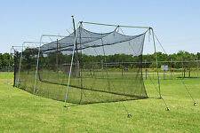 Cimarron 60x12x10 #24 Twisted Poly Batting Cage Net  - FREE SHIPPING