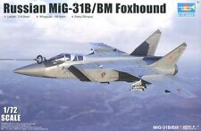 1/72 Trumpeter Russian MiG-31B/BM Foxhound #1680 - NEW