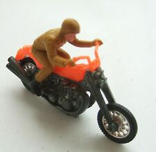Hot Wheels RRRumblers Road Hog Motor Cycle and Rider : Nice Retro Diecast Toy