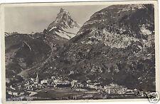 Suisse - ZERMATT et le Cervin