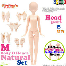 AZONE Pure Neemo FLECTION 1/6 M Natural Body B Hands & Head parts set Doll NEW