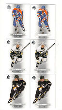 (6) 12/13 SP GRETZKY-CROSBY-LEMIEUX CARD LOT
