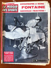 Miroir des Sports 2/01/1961; Just Fontaine/ Coupe Davis/ Pavesi Cycliste routier