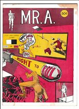 "MR.A.  [1973 GD-VG]  ""...RIGHT TO KILL!"""