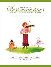 Sassmannshaus-Early Start On The Violin Book 1