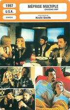 FICHE CINEMA FILM USA MEPRISE MULTIPLE / CHASING AMY Réalisateur Kevin Smith