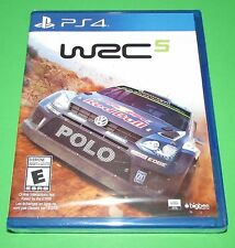 WRC 5 Playstation 4 PS4 Factory Sealed