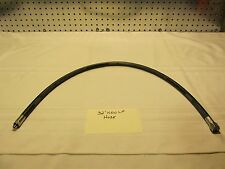 NEW/ UNUSED 32 INCH STANDARD LOW PRESSURE DIVING HOSE / SCUBA GAS SUPPLY HOSE