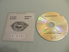 THE BLOODY BEETROOTS FT. THEOPHILUS LONDON All The Girls promo CD single