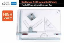 Draftsman A3 Drawing Draft Board Table Ruler Parallel Move Adjustable Angle Tool