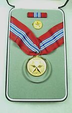 Department of the Army Civilian Medal for Valor, cased set of 3