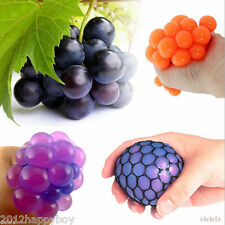 New Anti Stress Face Reliever Grape Ball Autism Mood Squeeze Relief Healthy Toy