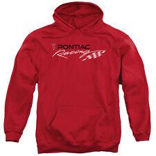 Mens Pontiac Racing Logo Red Hoodie