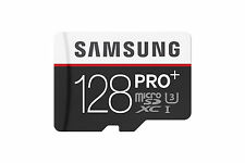 Samsung 128GB PRO PLUS MicroSD SDXC UHS-1 U3 Class 10 Memory Card with Adapter